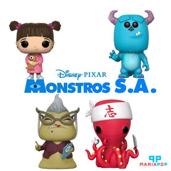 Funko Pop - Monstros S. A - Vendidos Separadamente