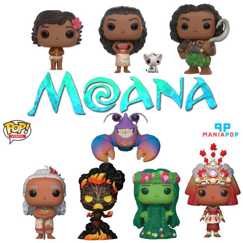 Funko Pop - Moana - Disney - Vendidos Separadamente