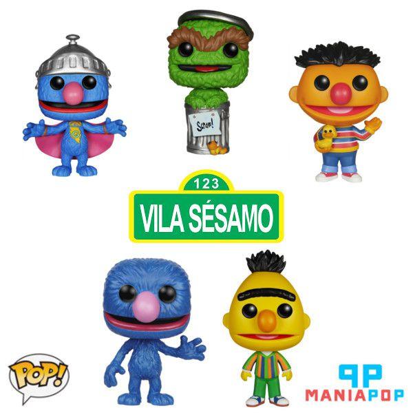 Funko Pop - Vila Sesamo - Vendidos Separadamente