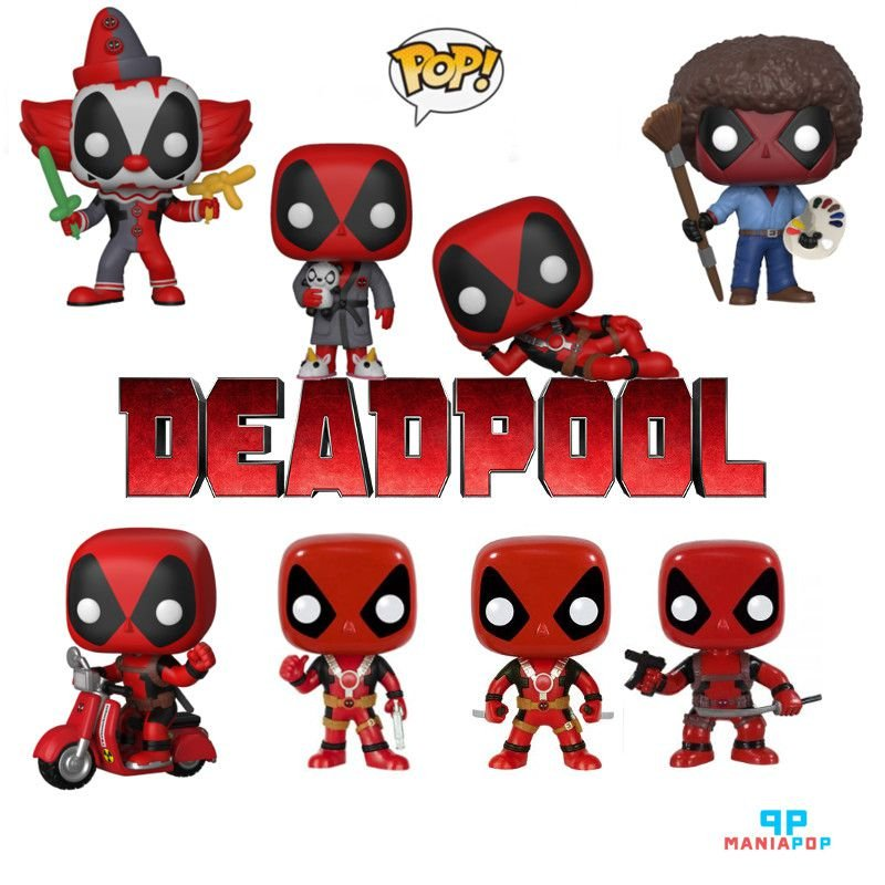 Funko Pop - Deadpool - Marvel - Vendidos Separadamente