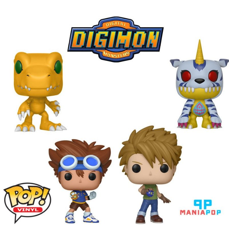 Funko Pop - Digimon - Vendidos Separadamente