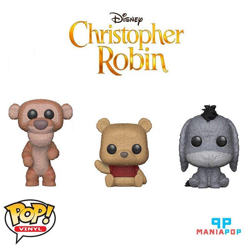 Funko Pop - Cristopher Robin - Filme Ursinho Pooh - Disney - Vendidos Separadamente