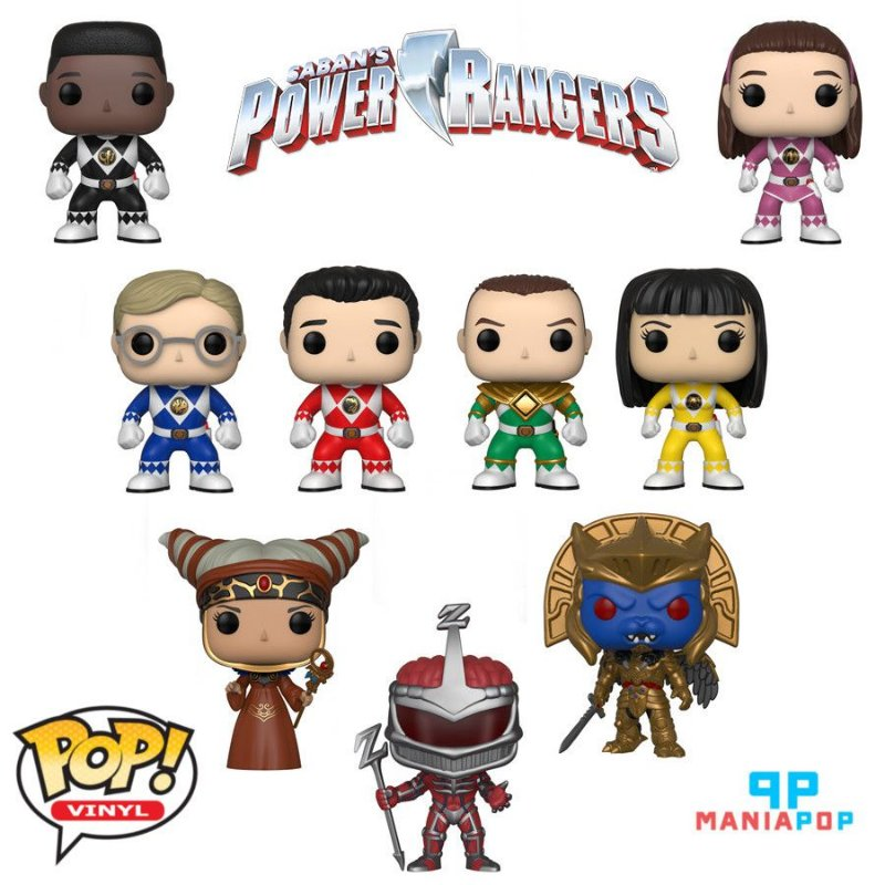 Funko Pop - Power Rangers - 25 anos - Vendidos Separadamente