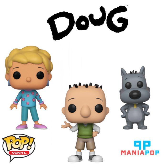 Funko Pop - Doug - animação - Vendidos Separadamente