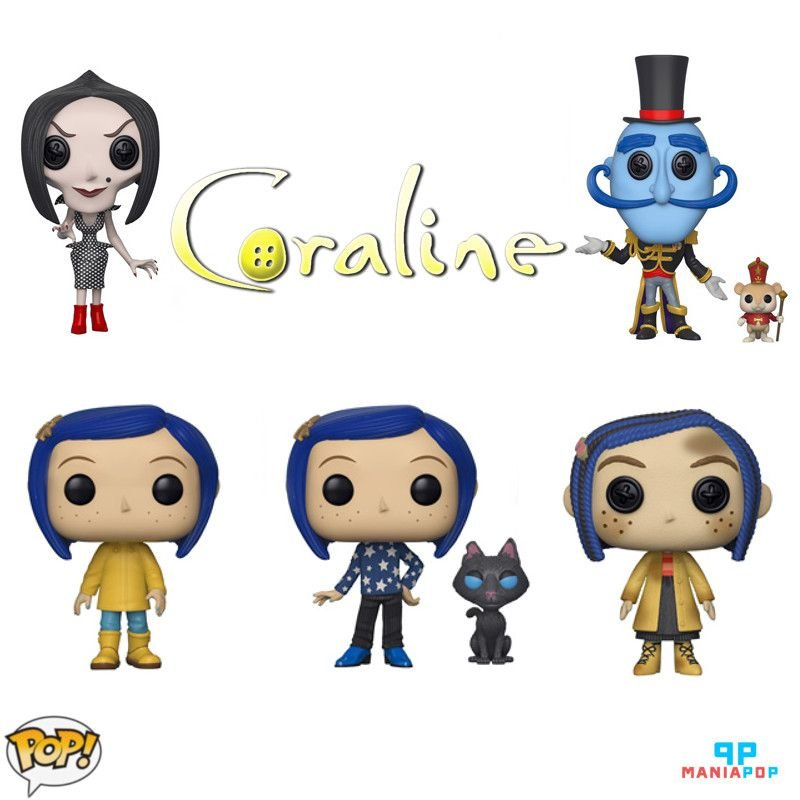Funko Pop - Coraline - Animação - Vendidos Separadamente