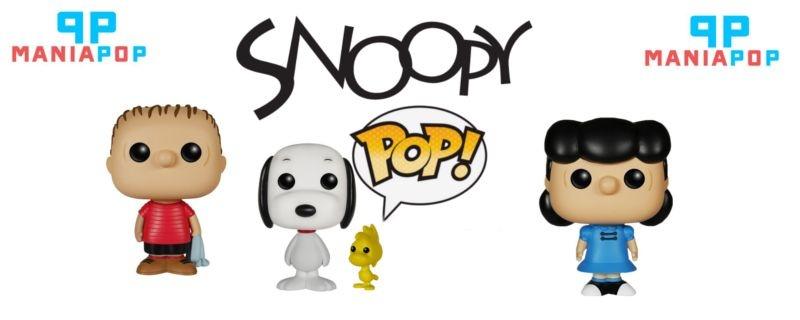 Funko Pop - Snoopy ou Lucy ou Linus