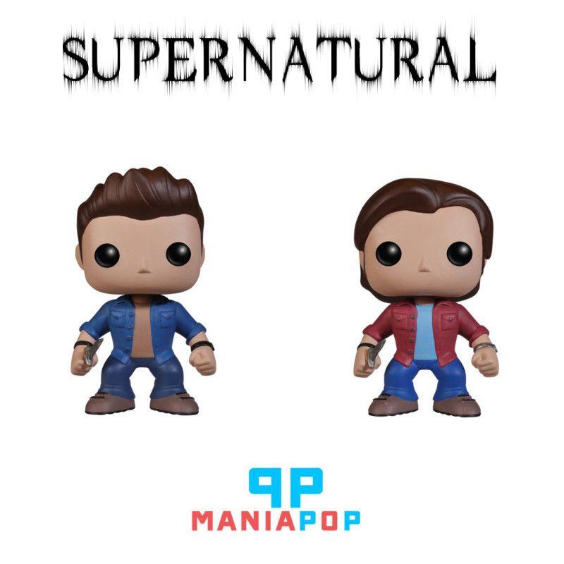 Funko Pop - Supernatural - Dean ou Sam ou Castiel ou Bobby Singer