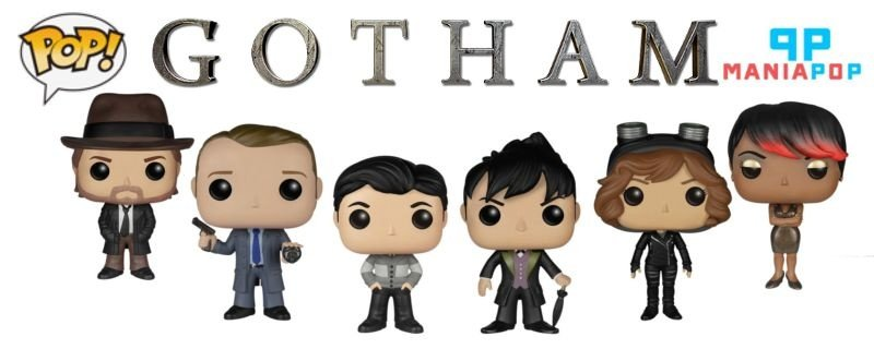 Funko Pop - Gotham - DC Comics - Bruce Wayne ou James Gordon ou Harvey Bullock ou Oswald Cobblepot ou Selina Kyle ou Fish Mooney