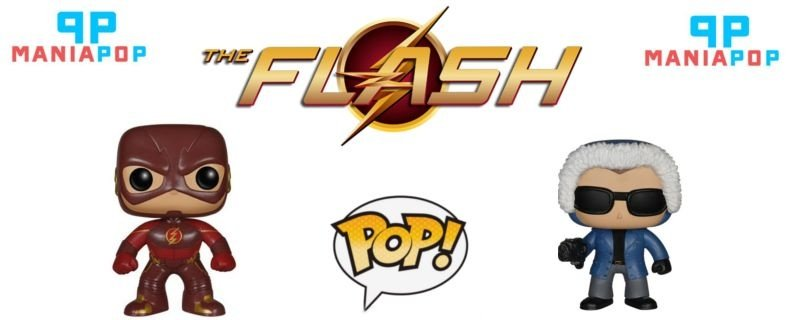 Funko Pop - The Flash - Versão Série - The Flash ou Captain Cold