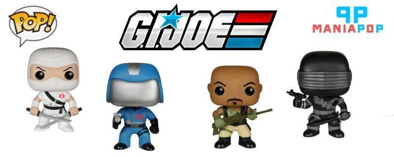 Funko Pop - G.I Joe - Comandante Cobra ou Snake Eyes ou Storm Shadow ou RoadBlock
