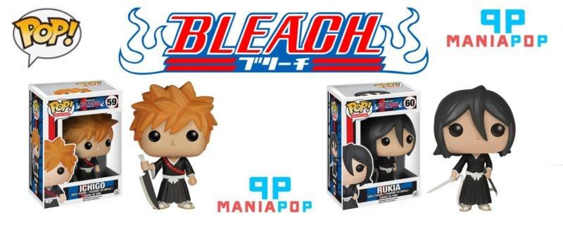 Funko Pop - Ichigo ou Rukia - Bleach