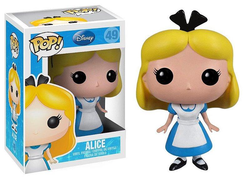 Funko Pop - Alice - Versão Desenho - Disney