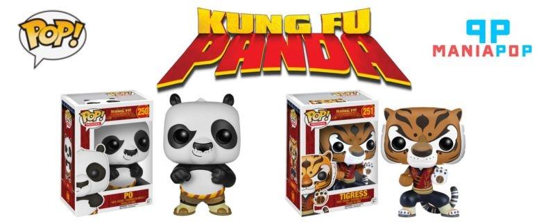 Funko Pop - Kung Fu Panda - Po ou Tigresa
