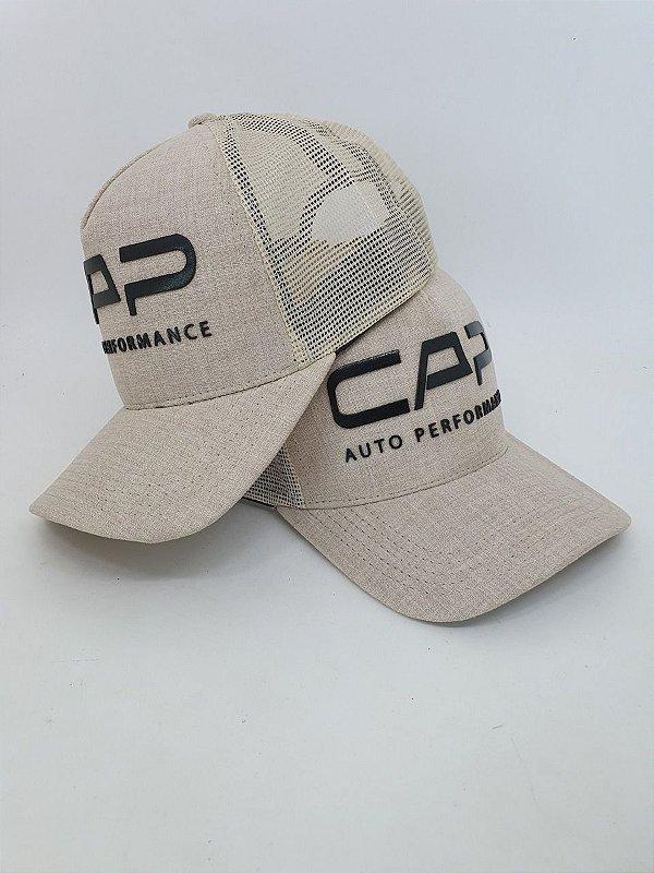 BONÉ CAP DIFUSORES - AREIA COM TELA