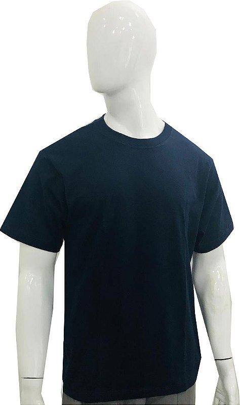 Camiseta gola redonda - Malha 100% ALGODÃO