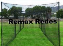 393e03e6210c0 Rede Para Basebol Rede fio 2mm Abertura da malha 5 x 5 - Remax Redes