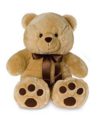 Urso de Pelúcia Teddy Bear | Entrega Grátis | Cartão Grátis