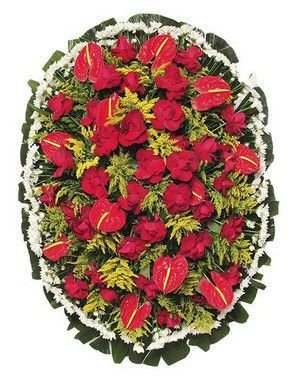 Coroa De Flores Brasília 6 | Entrega Grátis | Dizeres Grátis