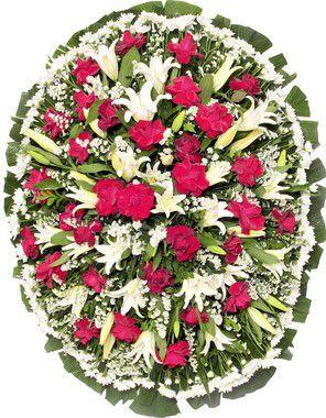 Coroa De Flores Brasília 8 | Entrega Grátis | Dizeres Grátis