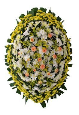 Coroa de Flores Brasilia 4 | Entrega Grátis | Dizeres Grátis