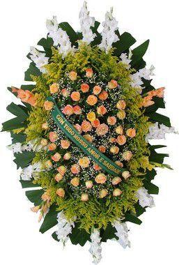 Coroa de Flores Brasilia 12 | Entrega Grátis | Dizeres Grátis