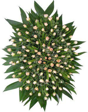 Coroa de Flores Brasilia 13 | Entrega Grátis | Dizeres Grátis