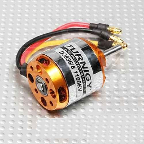 Motor Turnigy Brushless D2836/8 1100kv Completo Und.