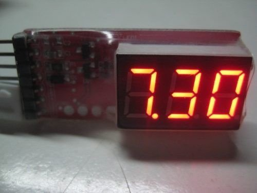 Medidor De Bateria De Lipo 2s Até 6s