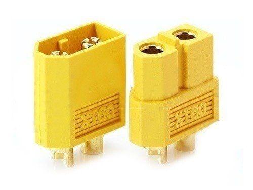 Conectores XT60 com termoretrátil par