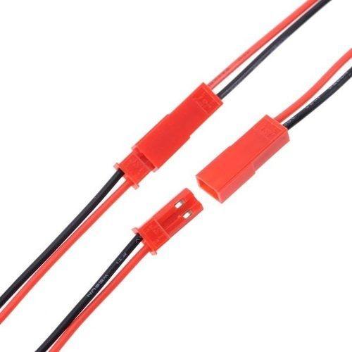 Conector plug JST macho/femea par