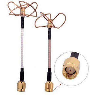 Antena FPV 5,8 Gtz para transmissores e receptores