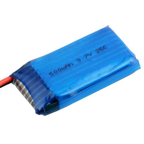 Bateria 3.7 V 500 mAh Li-Po para Hubsan X4 H107 H107L H107C H107D V252 JXD385 6IQH Unidade