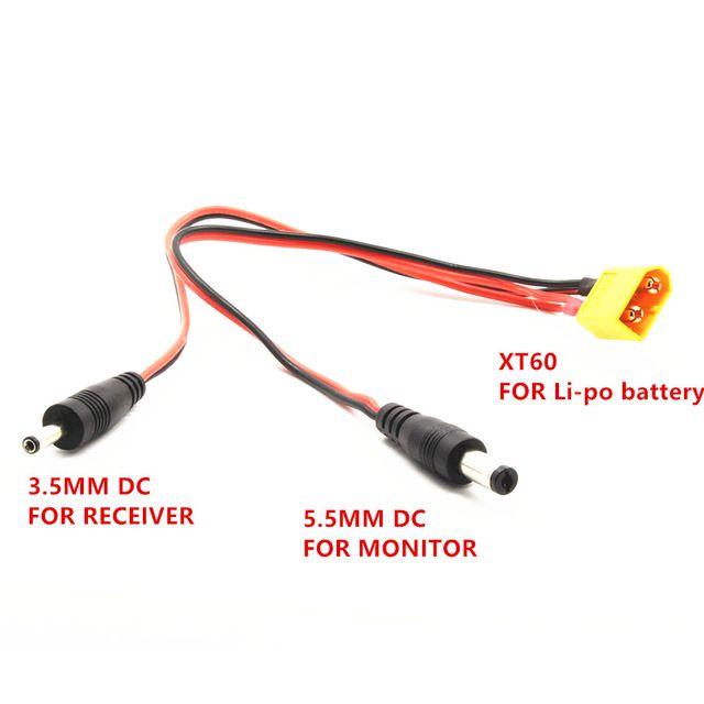 Cabo de alimentação XT60 Plug DC