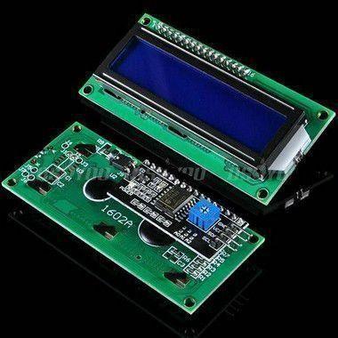 Display LCD module 1602 backlight azul para arduino.
