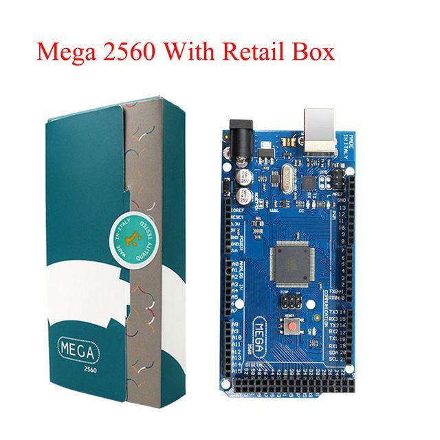 Mega 2560 R3 Board 2012 Versão Offcial com ATMega 2560 Chip ATMega16U2 para Arduino