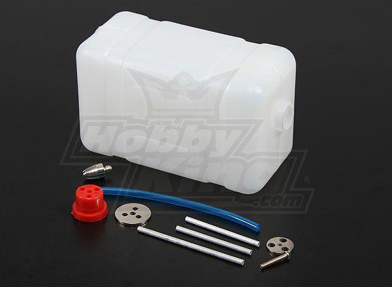 Tanque de combustível 650 ml em nylon para motores 50/60cc
