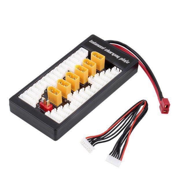 Placa paralela para carregadores de baterias - unidade