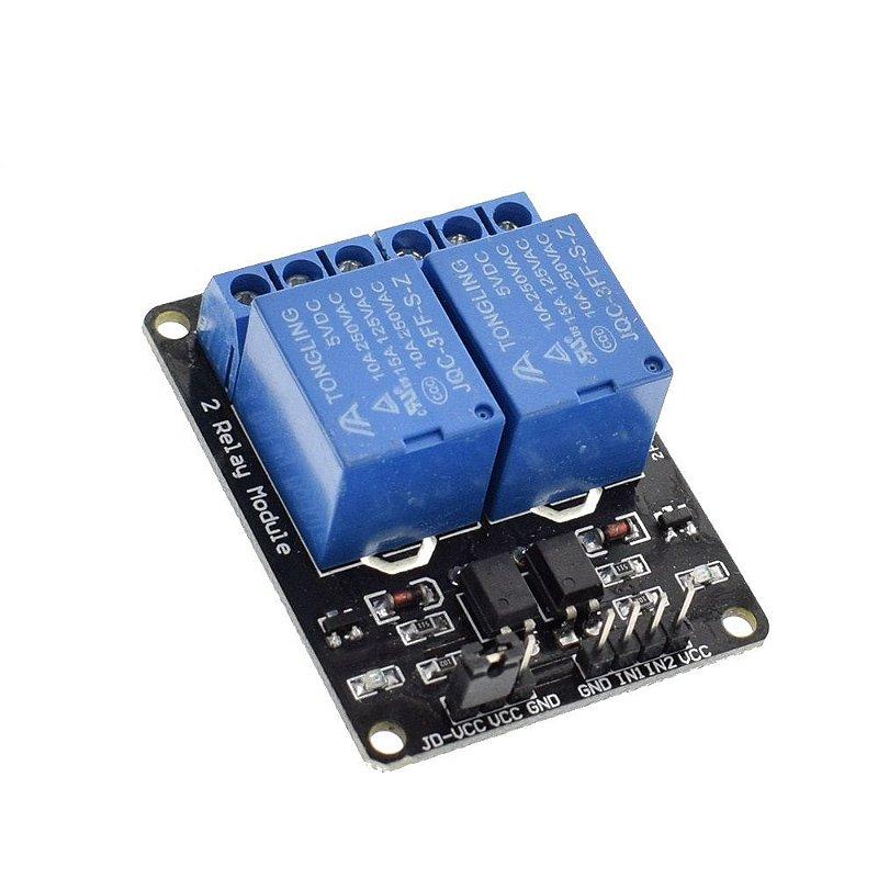 Optoaclopador 2 canais 12 volts