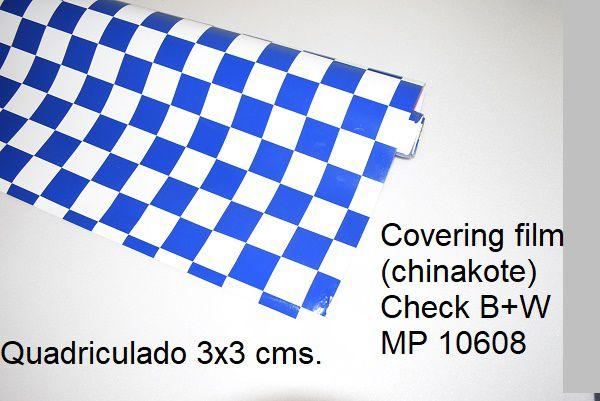 Chinakote quadriculado 3x3