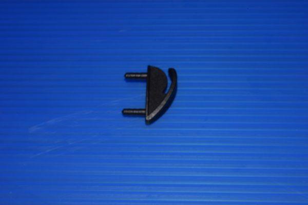 Skids de ponta de asa 25mm unidade