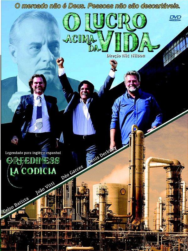 -DVD - O LUCRO ACIMA DA VIDA - 1 DVD= $30,00 (PROMOÇÃO: se vc doar $50,00 vc leva 2 DVDs e tem o frete grátis. Insira o numero do CUPOM 7Y88PCLL7)