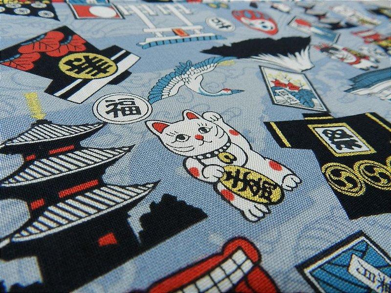 Japan Icons. Tec.Japonês. JD016 (50x55cm)