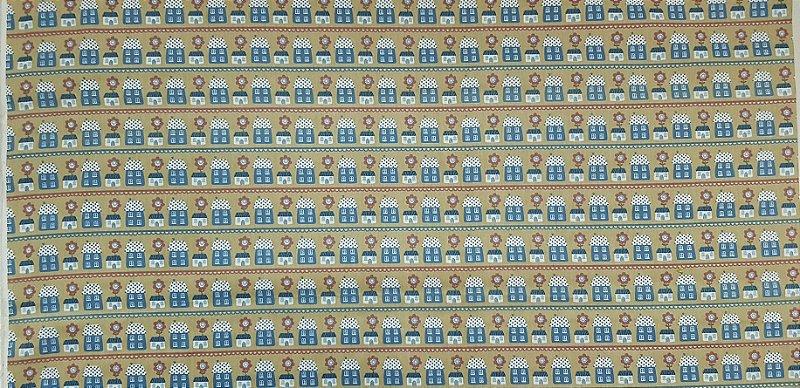 CasaFlor.Tecido 100% Algodão. TN046B (50x140cm)