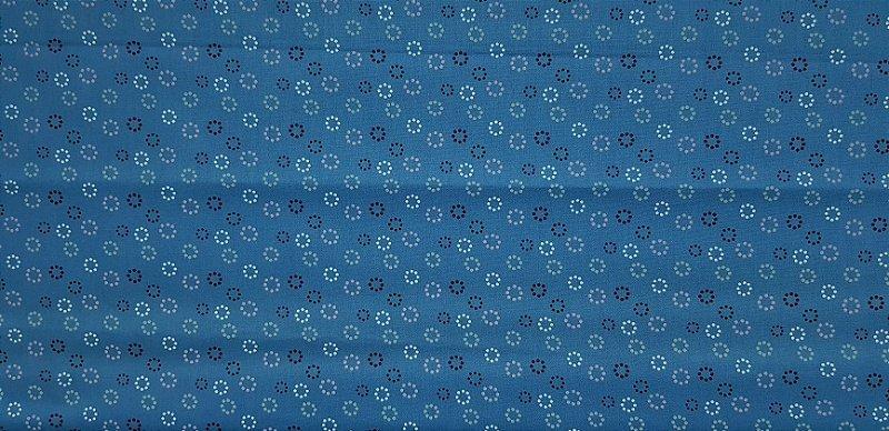 Bolinhas Circulares. Tecido 100% algodão NN0032 (50x140cm)