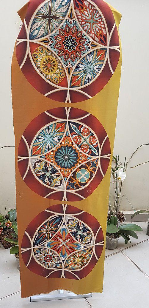 Jogo Americano Mandala Sousplast em Sarja