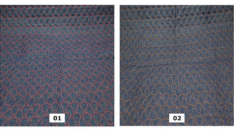 Jeans Matelassê Coração. TN019 (50x140cm)