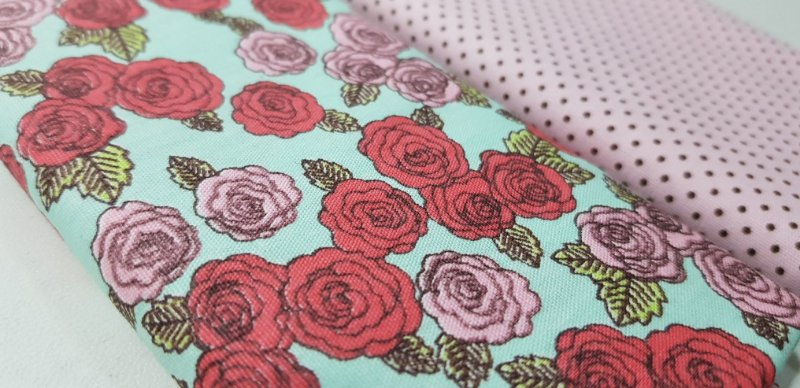Floral. Composê - 2x (50X70cm)