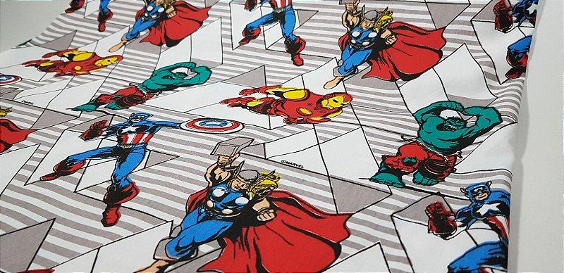 Marvel. Hulk, Homem Ferro, Capitão América & Thor. 50cm x 70cm