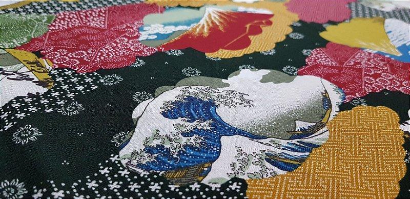 Japanese Images. Tec.Douradinho Japonês. TI054  (49cm x 55cm)