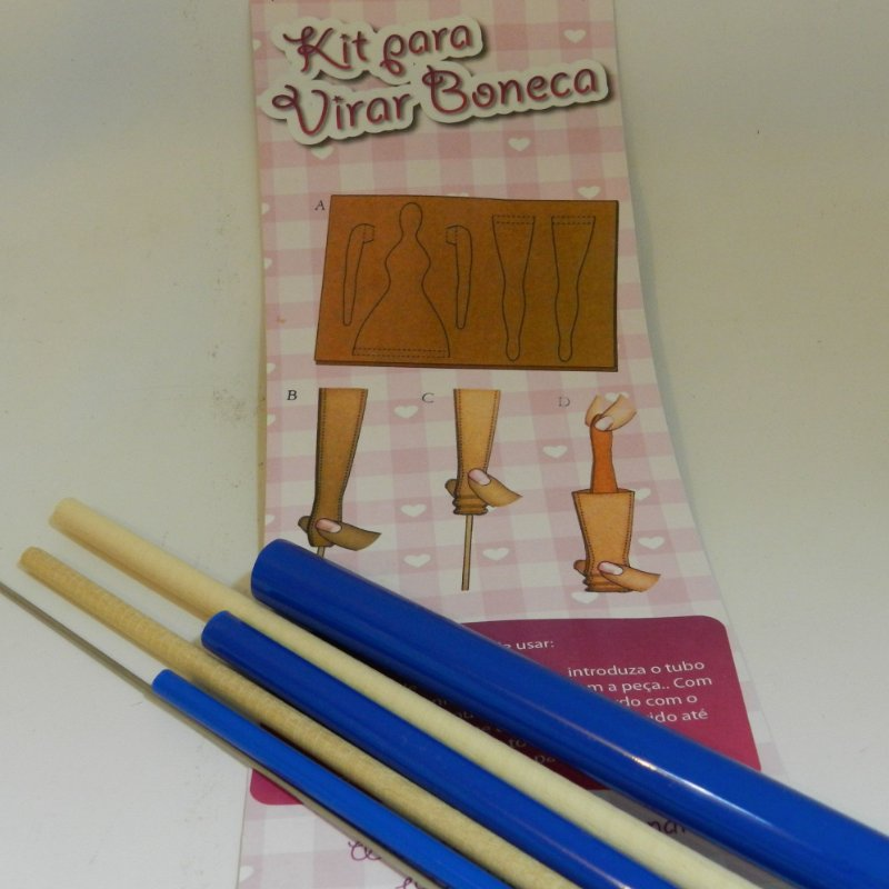 Kit Vira Boneca